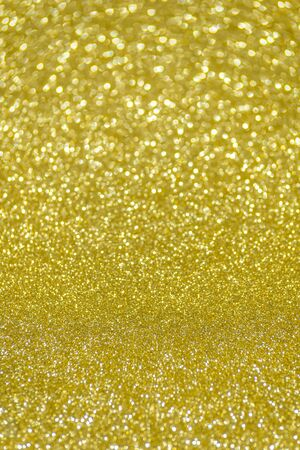 golden light: golden glitter christmas abstract background Stock Photo