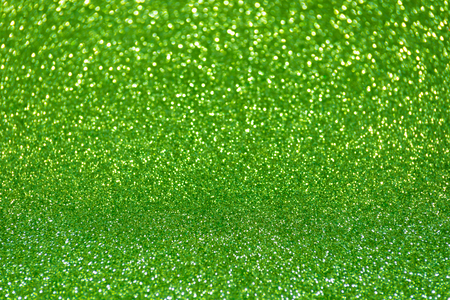 green glitter christmas abstract background Stock Photo