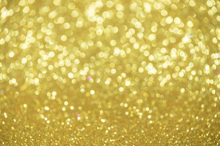 christmas backdrop: golden glitter christmas abstract background Stock Photo