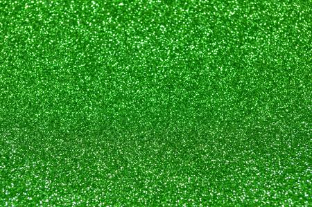 green glitter christmas abstract background Banco de Imagens