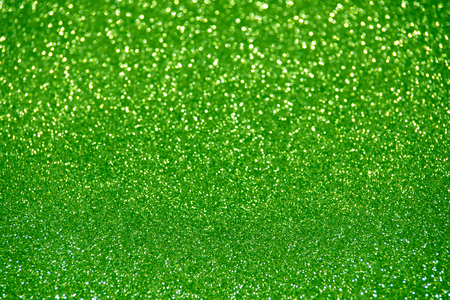 vernal: green glitter christmas abstract background Stock Photo