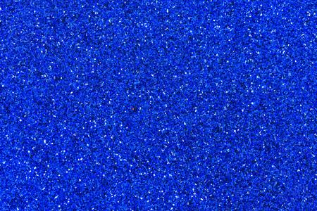 Résumé de Noël de texture de paillettes bleues