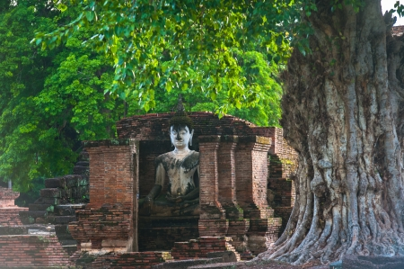 Sukhothai historical park, Thailand photo