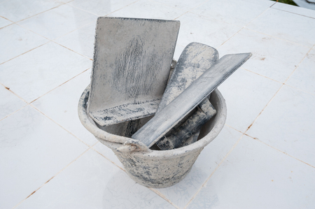 Plastering equipment  photo
