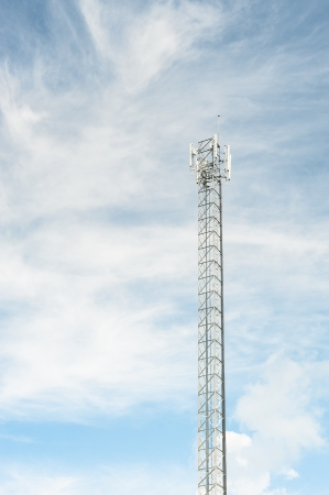 cellular tower system. photo