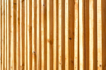 Wood battens were settle on the wall for building partition