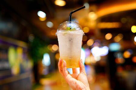 Bebida refrescante Refresco de tamarindo mezclado