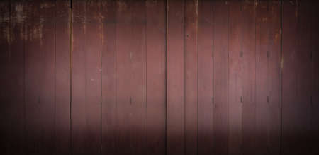 Classic backdrop wood wall and door in front of Thailand vintage traditional Building.
