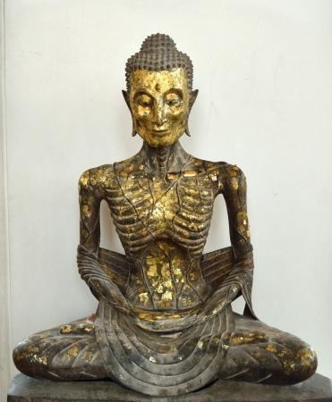 ascetic: The Buddha asceticism, Buddha-Statue in Wat Suthat
