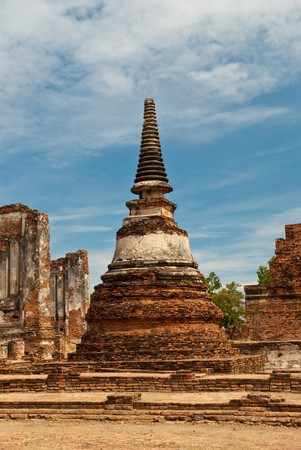 ancient pagoda thailand photo