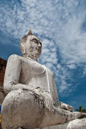 vecchio buddha Thailandia