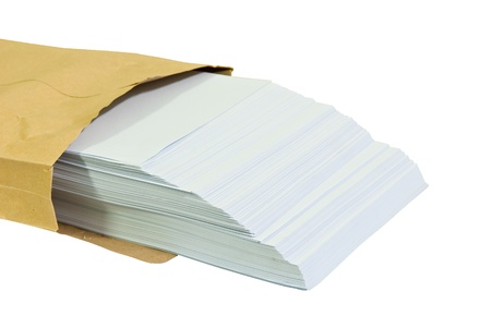 office use: Blank sheets of A4 paper for office use
