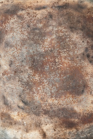 close up of rusty metallic surface  Stock Photo - 9144988