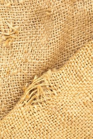 fabric textures: texture of the bag hemp