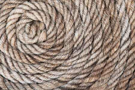 old rope close up background Stock Photo - 13931275
