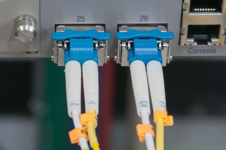 data transfer by optical fiber photo