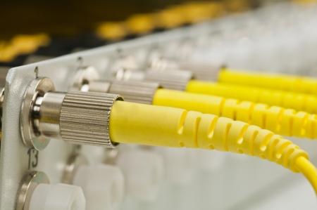 data transfer by optical fiber