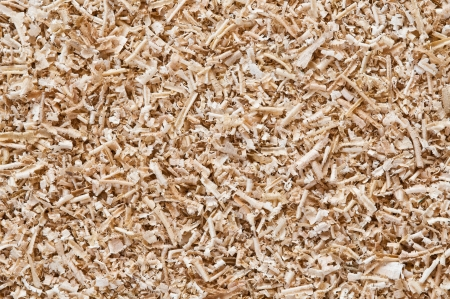 abstract background of sawdust close up photo