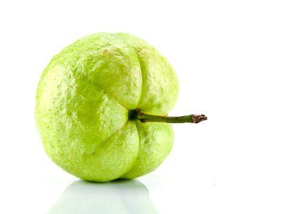 dietetical: fresh guava on white background