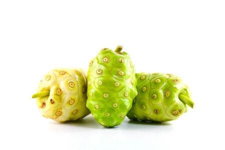 noni fruit: fresh Noni fruit close up