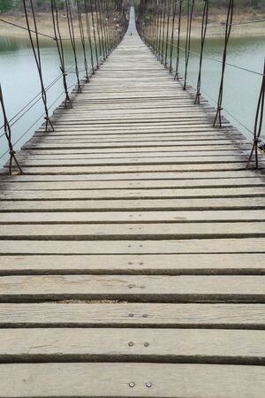rope bridge to the island