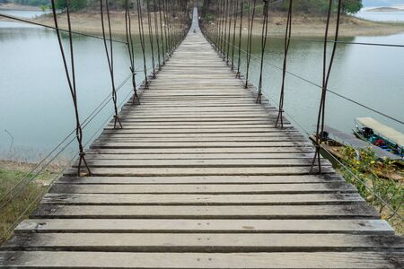 rope bridge: rope bridge to the island