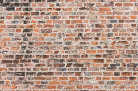 abstract background of colorful ancient brick wall