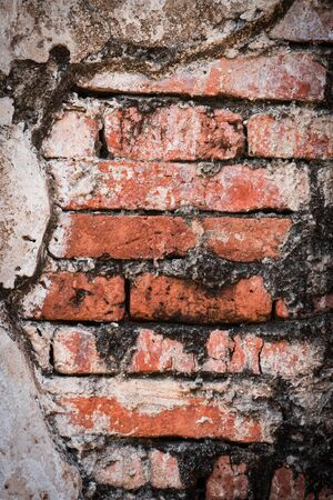 abstract background of old ancient brick wall