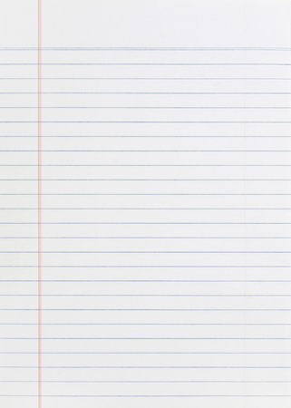 Notebook Lined Paper Background Or Texture
