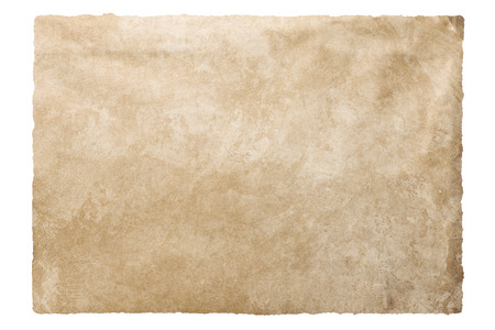 burned out: Vintage texture old paper background with clipping path
