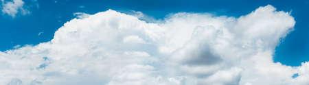 Cloudscape with Blue Sky ,paronama