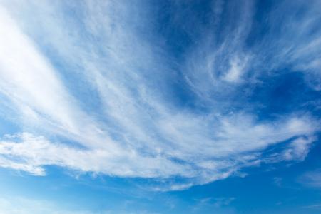 Light Blue Sky with cloud Imagens