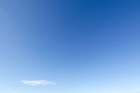 shiny day: Clear blue sky with white cloud on a summer shiny day