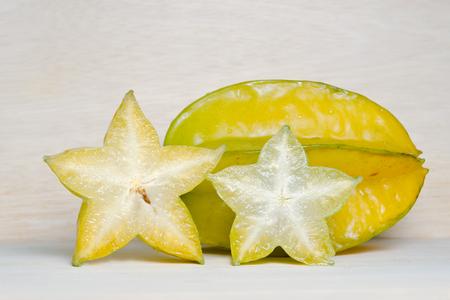 bilimbi: Star apple fruit (Also known as Carambola, starfruit, Averrhoa apple carambola, Bilimbi, Arkin in Florida, Dah Pon, Ma fueng, Maha in Malaysia, Demak, Golden Star, Newcomb, Star King, Golden star)