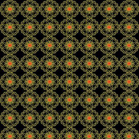 fabricate: Background floral pattern