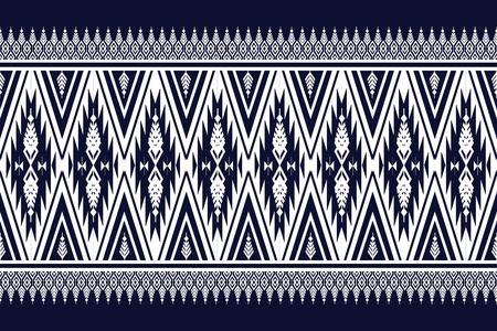 antique wallpaper: Geometric Ethnic pattern design for background or wallpaper. Illustration