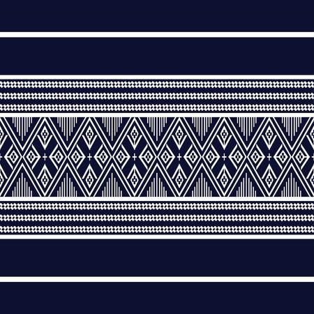 sarong: Geometric Ethnic pattern design for background or wallpaper. Illustration