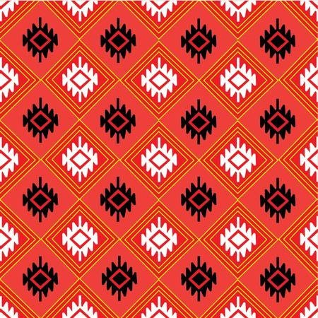 sarong: Geometric Ethnic pattern  design for background or wallpaper.