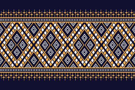 Geometric ethnic pattern traditional Design for background,carpet,wallpaper,clothing,wrapping,Batik,fabric,sarong,Vector illustration embroidery style. Çizim