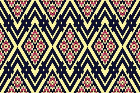Geometric ethnic pattern traditional