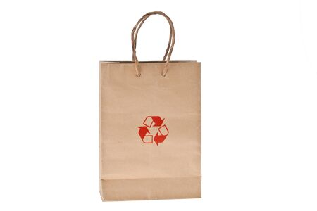 Recycled Paper Bag Stock Photo - 9558576