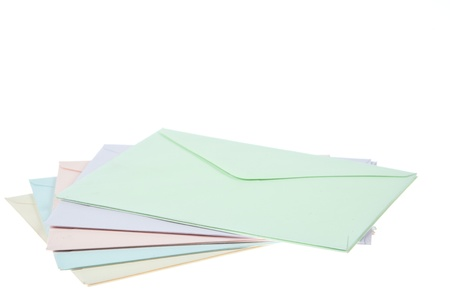 Colorful Envelops Stock Photo - 9859287
