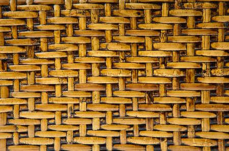 Wicker wood pattern background photo
