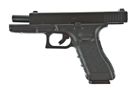 airsoft: Airsoft hand gun, glock model Stock Photo