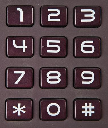 Numeric Keypad Stock Photo