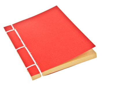 Red book isolated on white background Stock Photo - 11009976