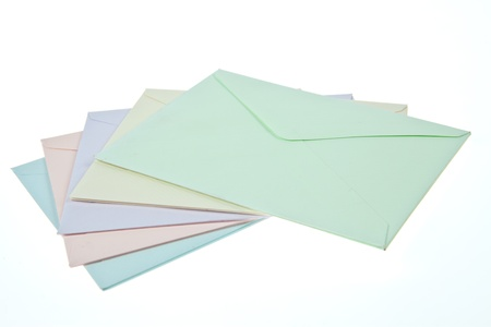 Colorful Envelops photo