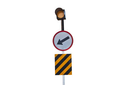 Traffic road sign with light Stock Photo - 11779508