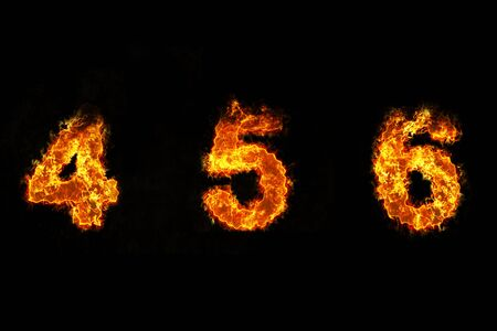 4 5: Fire on number 4, 5, and 6