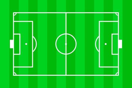 Soccer field layout Stock Photo - 11999189